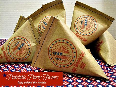 Patriotic Giveaways - patriotic party favors