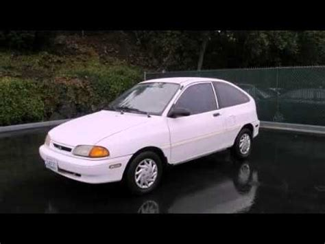 best auto repair manual 1997 ford aspire windshield wipe control 1996 ford aspire problems online manuals and repair information