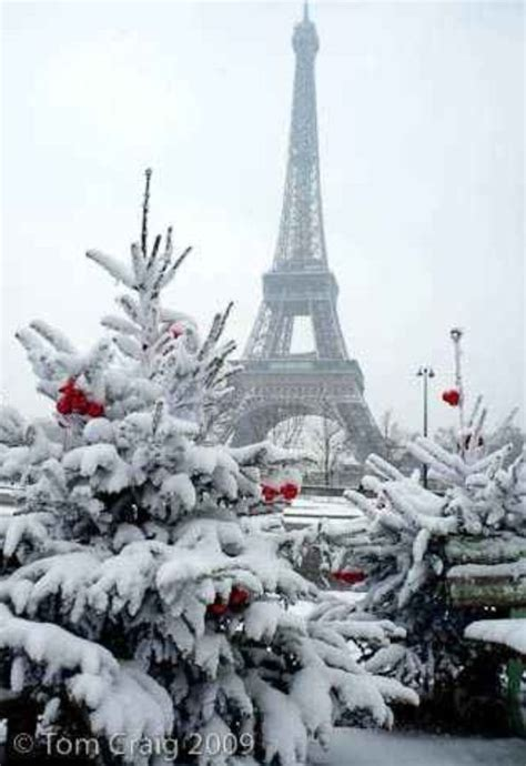 images of christmas in paris snow on the eiffel tower snow ice snowmen pinterest