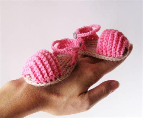 crochet sandals for baby open toe baby sandals pdf crochet pattern on luulla