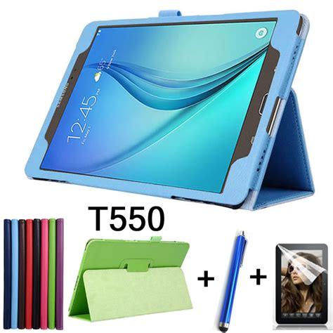 Samsung Galaxy Tab A 97 Inch T555 Soft Shell Fs Marvel Cover מוצר stylus luxury for samsung galaxy taba sm t550 t555 lichee style pu leather