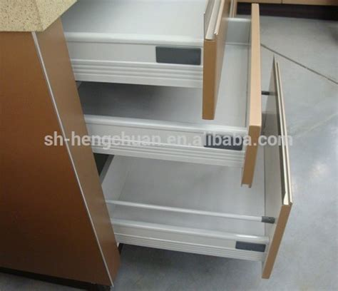 Silent Drawer Slides by Silent Drawer Slides Blum Soft Metal Box