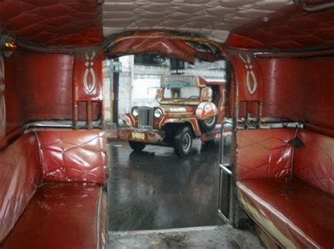 philippines jeepney inside view from inside a jeepney philippines worldnomads com