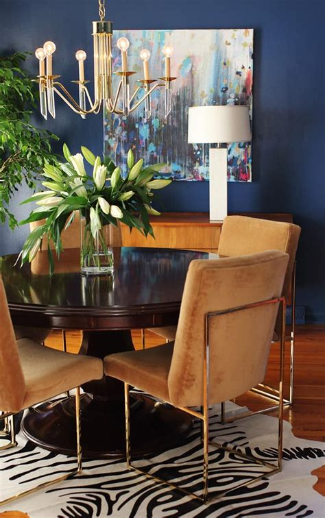 navy blue dining room table 25 best ideas about navy dining rooms on blue