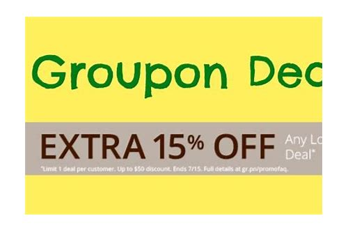 groupon coupons for today