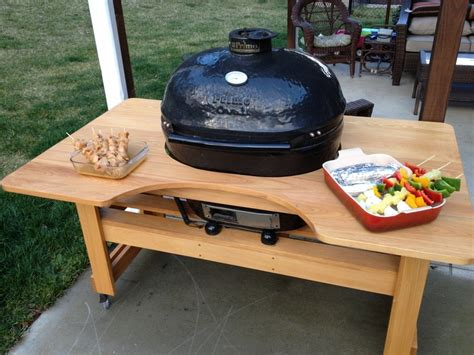 cypress grill table woodworking pinterest grill