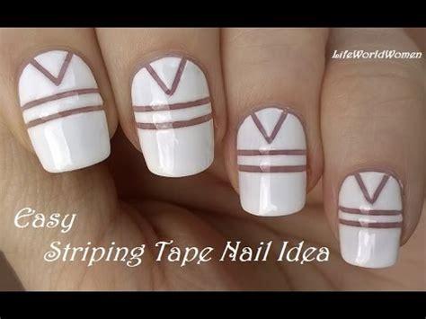 Easy White Nail