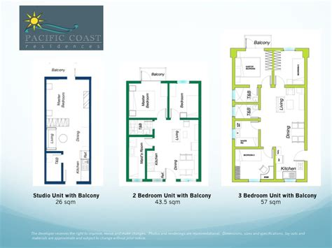 floor plan pacific coast residences resort style luxury condo in bf homes