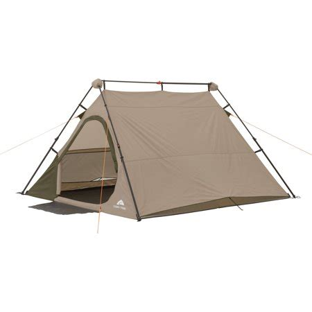 ozark trail 4 person 8' x 7' instant a frame tent