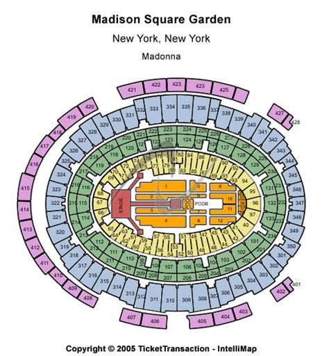 Map Of Square Garden by Square Garden Tickets Square Garden Event Schedule