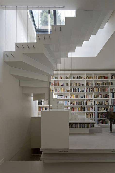 alu geländer treppe treppe wand design