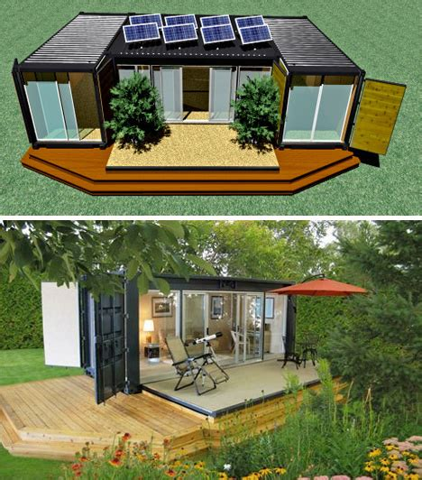 small eco friendly homes ecopods shipping container buildings urbanist