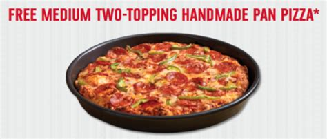 Domino S Pizza Giveaway Quickly - domino s free medium pizza for the first 20 000 at noon pst
