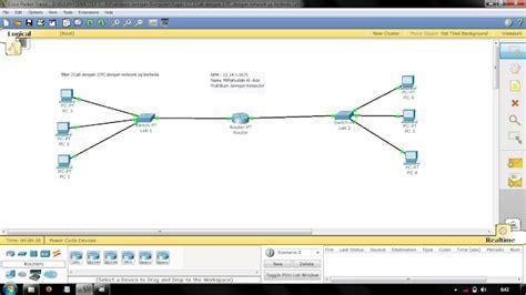 makalah membuat jaringan peer to peer akang miftah