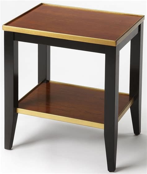 cherry accent tables lambert transitional cherry accent table 6806109 butler