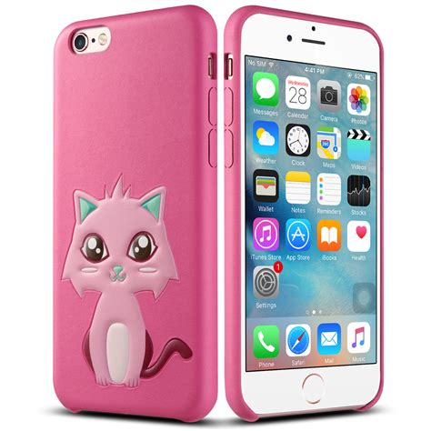 Casing Iphone 6 6s 3d Apple And X Custom Cover ulak 3d pattern synthetic leather protective cover for iphone 6s 6 4 7 ebay