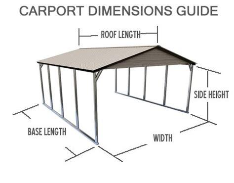 Carport Dimensions Carport Buying Guide