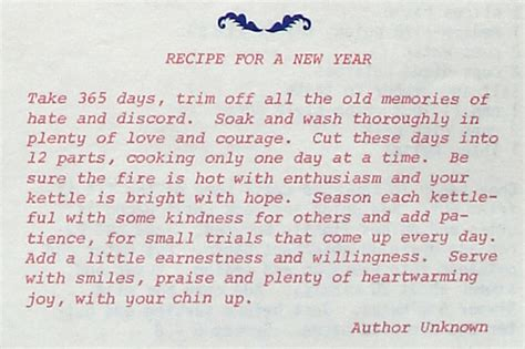 new years day recipes a collection of quot recipe quotes like success