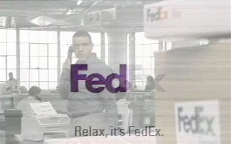 Fedex Mba Internship by Relax It S A Fedex Tv Ad The Inspiration Room