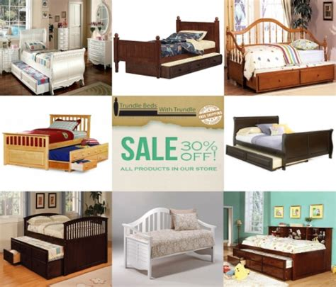trundle beds space saving solution