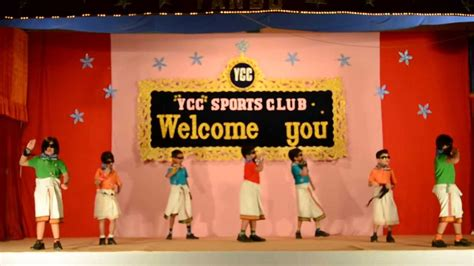theme names for annual function lungi dance by school kids annual day function at ycc
