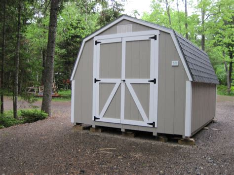 Gambrel Storage Shed by Gambrel Sheds Ed S Sheds
