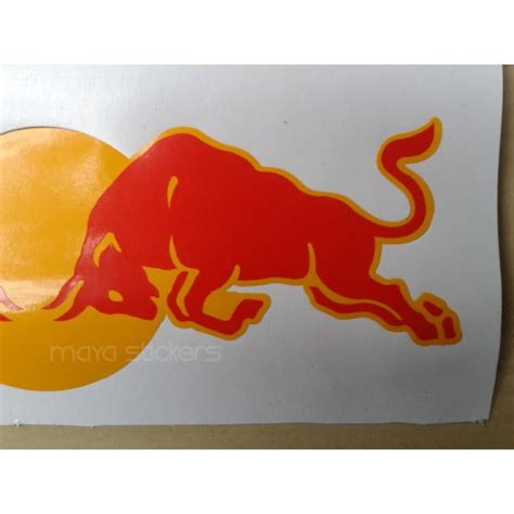 Stickers Red Bull Free by Red Bull Racing Sticker Decal For Bikes Cars And Laptop