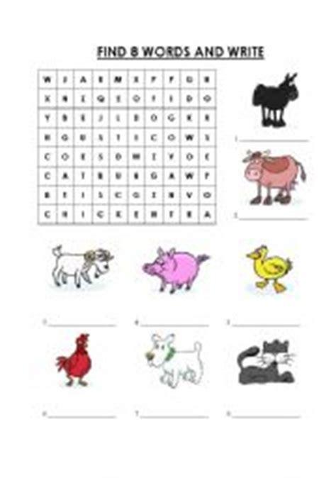 printable animal farm quiz english teaching worksheets animals wordsearch