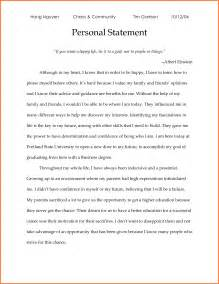 Graduate School Essays Sles by 6 Personal Statement Exles Graduate School Sales Report Template