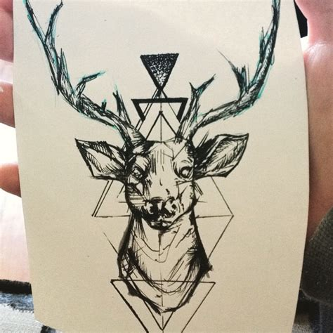 tattoo deer art on instagram