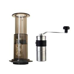 Coffee Grinder Aeropress Aeropress Travel Bundle With Porlex Coffee Grinder Cape