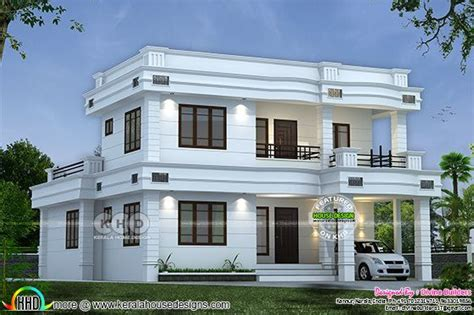 double storied house 13 lakhs kerala home design and 36 lakhs cost estimated double storied house kerala