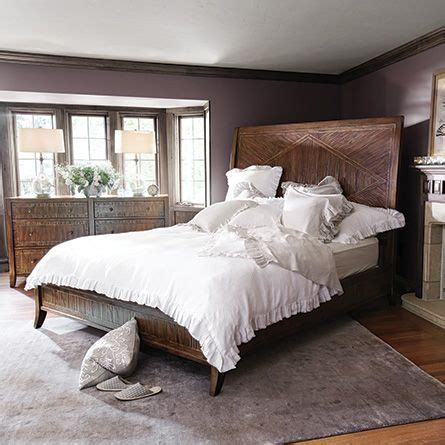 arhaus bedroom furniture rainier queen bed arhaus at an angle h o m e