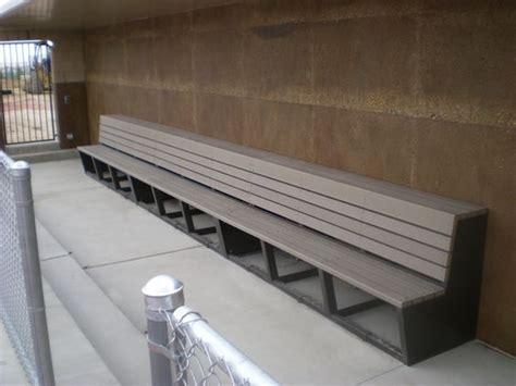 baseball bench dugout bench diy pinterest products and benches