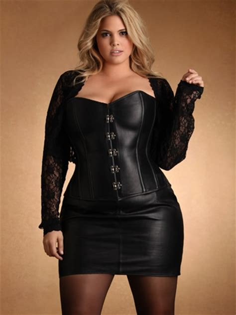 leather skirt plus size leather hips