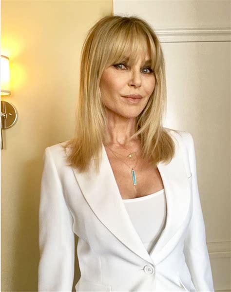 christie brinkley christie brinkley has bangs see her new look
