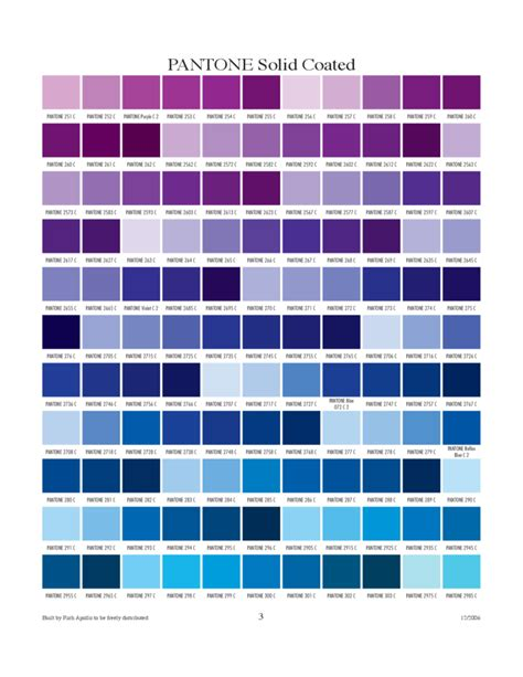 color c pantone solid coated chart free