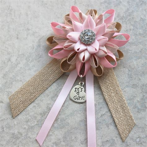 How To Make A Corsage For Baby Shower by Baby Shower Ribbon For Decorations Baby Ideas