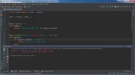 tutorial python web development flask web development with python tutorial 3 http