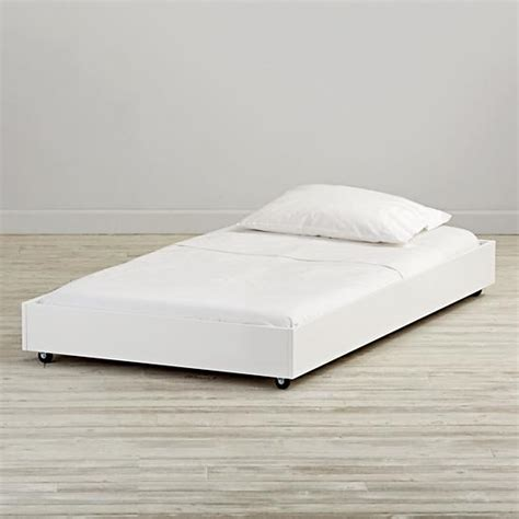 white trundle bed jenny lind white twin trundle bed the land of nod