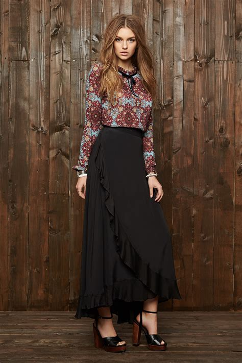 Inka Maxi cleobella inka maxi skirt favor style editorial winter fashion and fall 2015