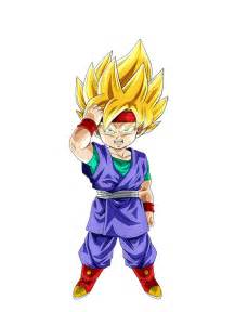 imagenes de goku jr de grande courage awakened super saiyan goku jr int ur game
