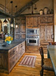 rustic kitchen cabinet 40 rustic kitchen designs to bring country life designbump
