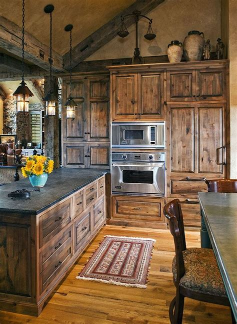 rustic cabin kitchen ideas 40 rustic kitchen designs to bring country designbump