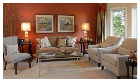 copper color living room for the home