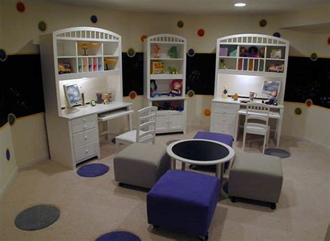 bedroom with study area designs fun ways to inspire learning creating a study room every kid will do their homework in