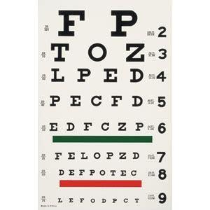 printable 8 x 11 eye chart snellen eye chart