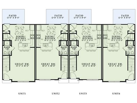 multi family house floor plans multi family house plans apartment plan 025m 0094 at