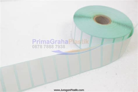 Label Barcode Semicoated 32 X 18 3 Line Gap 1 Isi 5000 Label label sticker nama harga barcode home