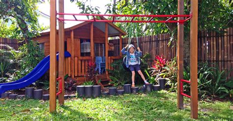 backyard play equipment australia best quality timber play equipment aarons outdoor living